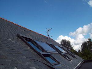 capteurs solaires thermiques intégrés lemener